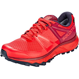Salomon Trailster GTX Shoes Women Hibiscus/Beet Red/Graphite